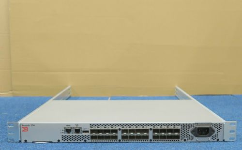 Brocade 300 320 BR-320 24 Port 8GB 8Gbps FC Fibre 8 Ports Active 80-1001861-03